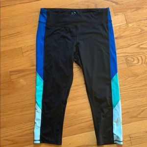 Champion workout cropped running pants